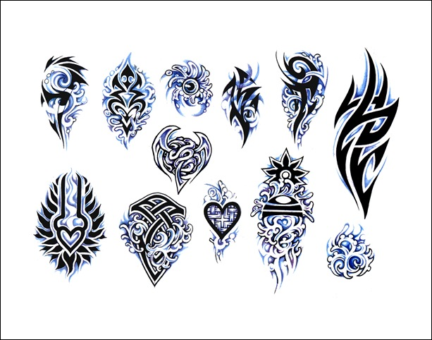 tattoo meanings symbol tribal Clip Tribal Images Art Clipart Tattoo Designs  060611» Vector Free