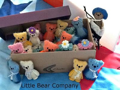 mohair bear, teddy bear, Hugglets