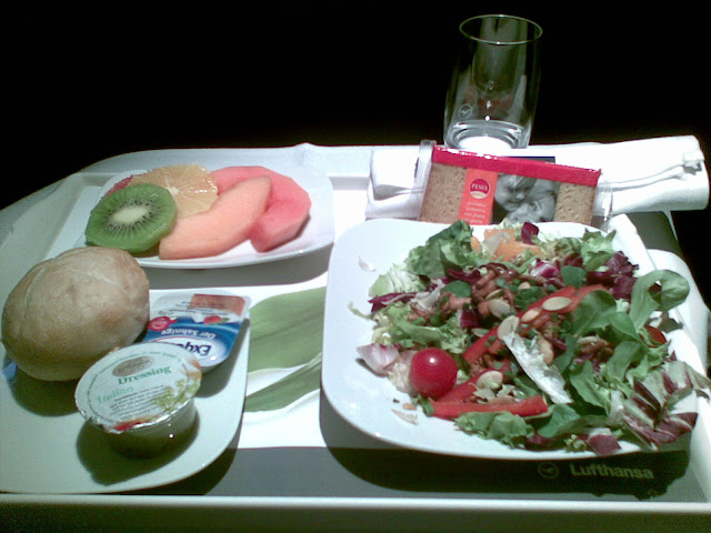 gluten free meal Business Class Lufthansa