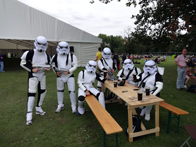 The festival is stormed by Troopers!