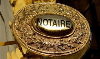L'Acte Authentique : Intervention obligatoire du Notaire
