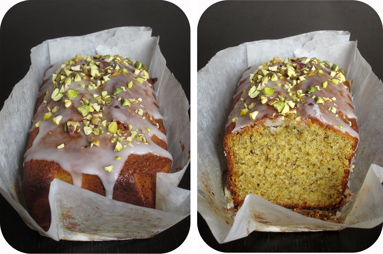 Mon Quatre Heures Bricoleur Cake A La Pistache Et Fleur D Oranger
