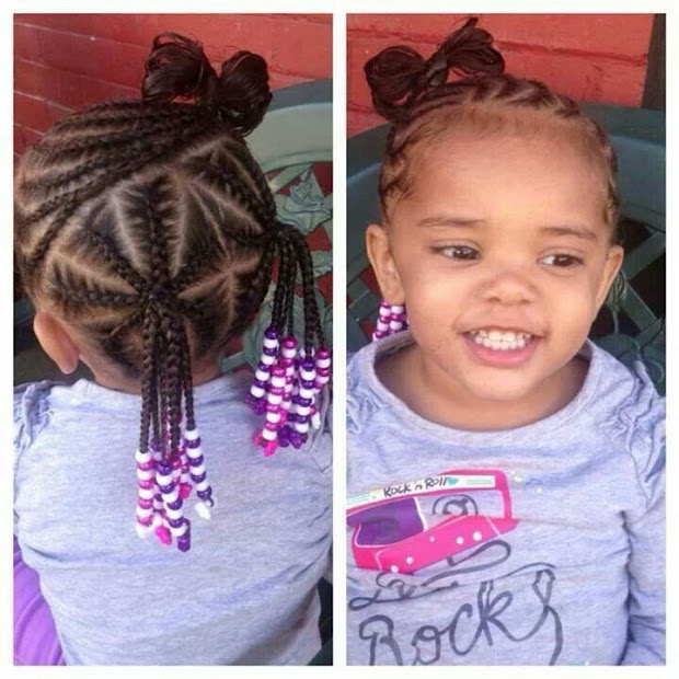 cute black little girl hairstyles