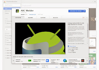 أداة جديدة من جوجل تسمح بتشغيل تطبيقات الاندرويد على اى حاسوب