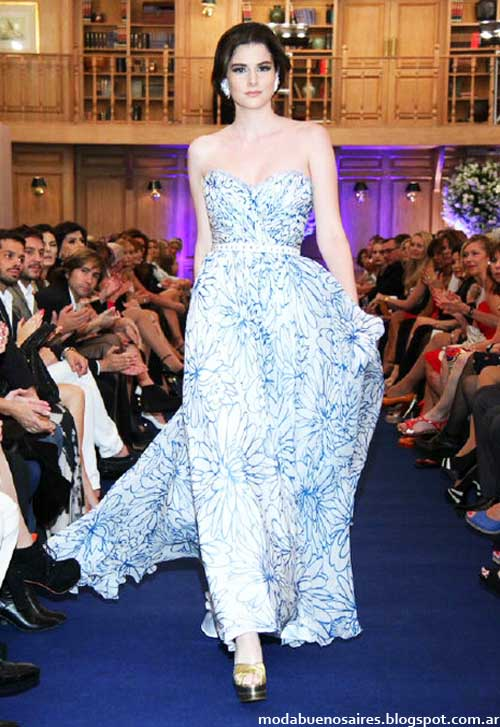 Jorge Ibañez vestidos 2013 moda argentina.