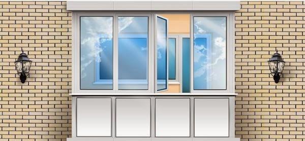 Недорогое и качественное остекление балконов и лоджий
