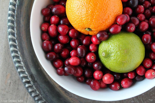 Orange and Lime Cranberry Sauce