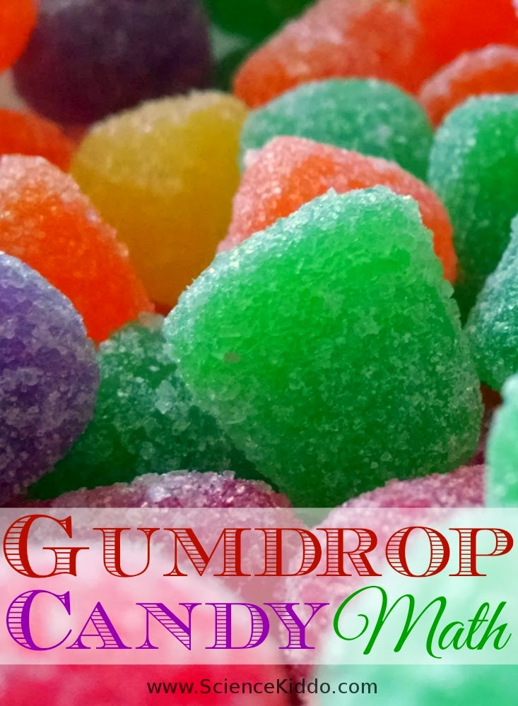 Gumdrop Graphs | Candy Math The Science Kiddo