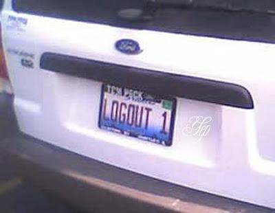 Plat Kendaraan Para Pecinta Internet [ www.BlogApaAja.com ]