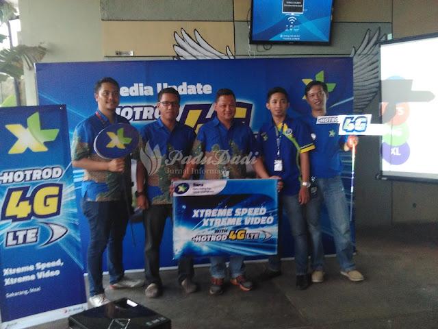 XL Resmi Launching 4G LTE Di Cirebon