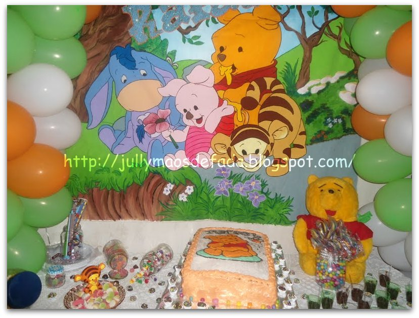 Festa Infantil Ursinho Puff  Car Interior Design