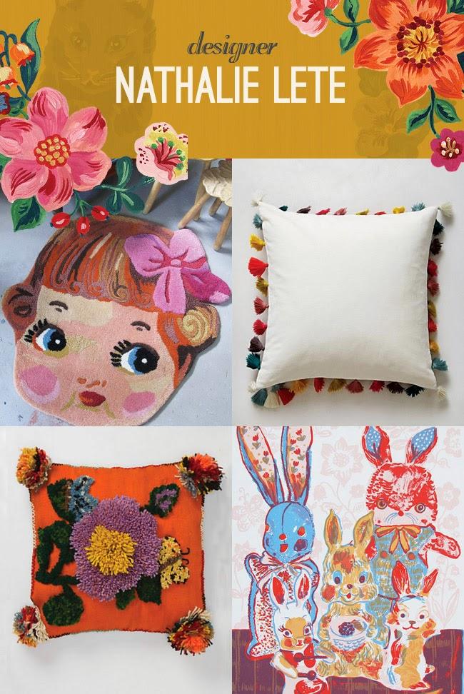 Nathalie Lete - colorful design