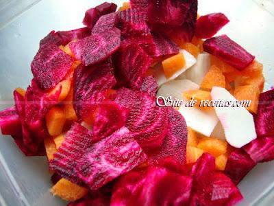 As safras dos legumes