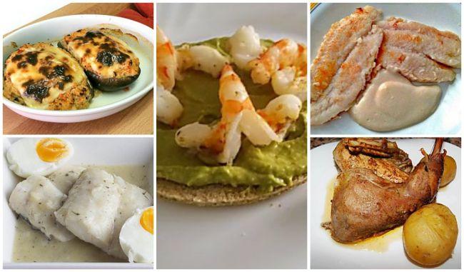 5 segundos platos de dieta