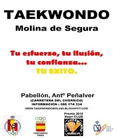 Taekwondo Molina de Segura. Un club de éxito deportivo. Artes Marciales