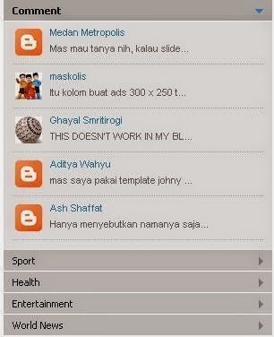 Cara Mudah Membuat Menu Accordion di Sidebar Blog