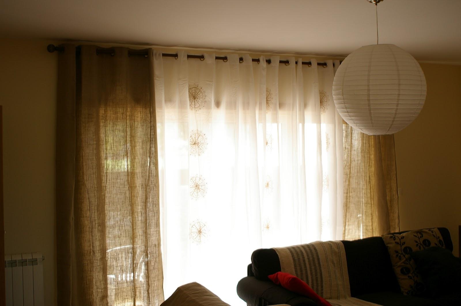 Di rio da nossa casa cortina - Cortinas el gato preto ...
