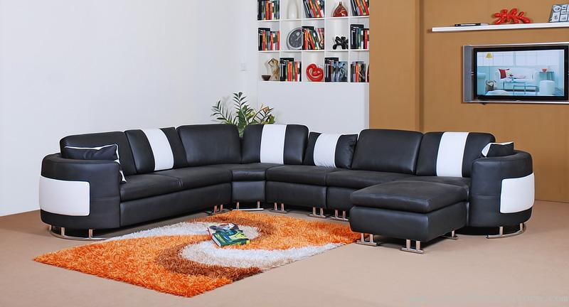 Furniture for Home Design: Modern leather sofa sets designs ideas..
