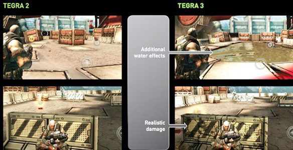 Nvidia unveils Tegra 3, shows off silky smooth 3D gaming, Nvidia: Tegra Set To Win Designs, Says Nomura,  NVIDIA Tegra 3   