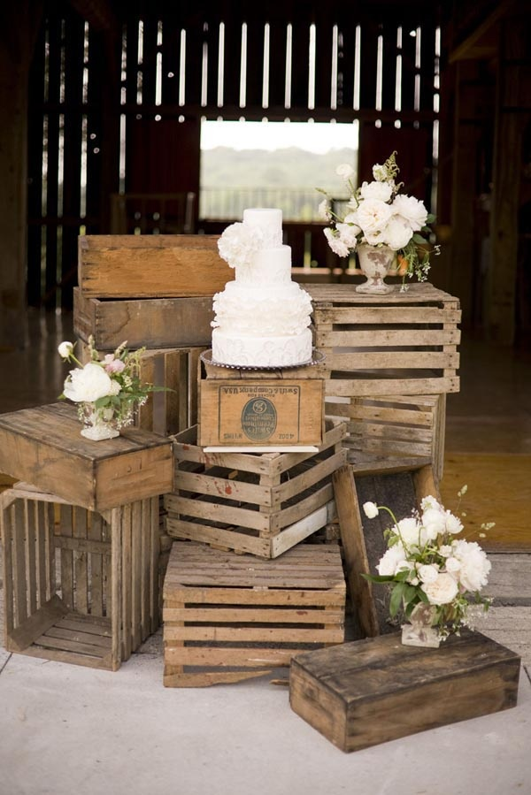 Rustic vintage wedding decorations ideas origami