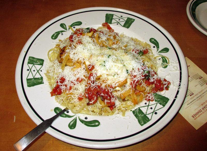 Central Florida 39 S Good Eats Olive Garden