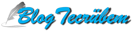Blog Tecrübem - Kişisel blog sitesi
