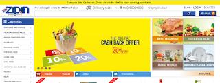 Online Grocery Store Zip.in