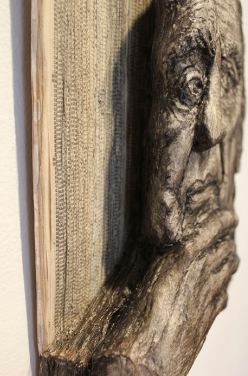 16-Side-View-Phone-Books-Sculpture-Carving-Cuban-Artist-Alex-Queral-WWW-Designstack-Co