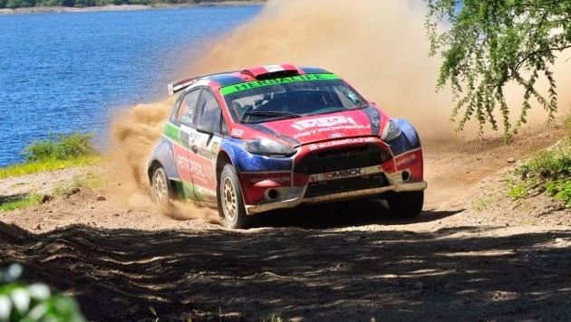 Nicolás Fuchs conquistó Rally de Córdoba