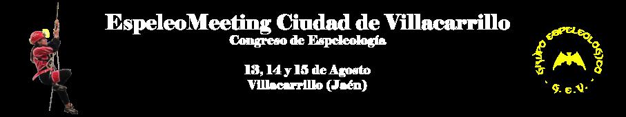 Congreso Espeleología / EspeleoMeeting Ciudad de Villacarrillo