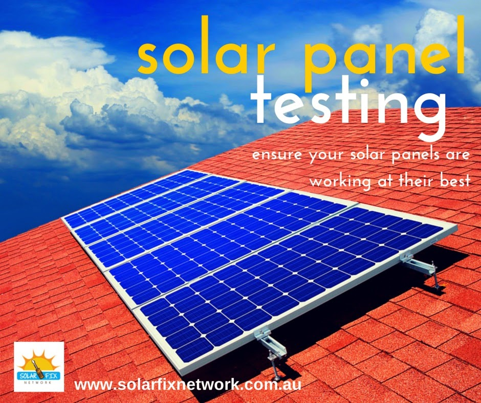 Solar panel testing for Adelaide homeowners
