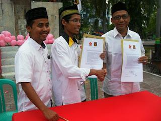 Koalisi Gerindra Dan PKS Tetapkan Idris Satria Budi Sebagai Balon Walikota