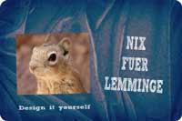 Nix für Lemminge