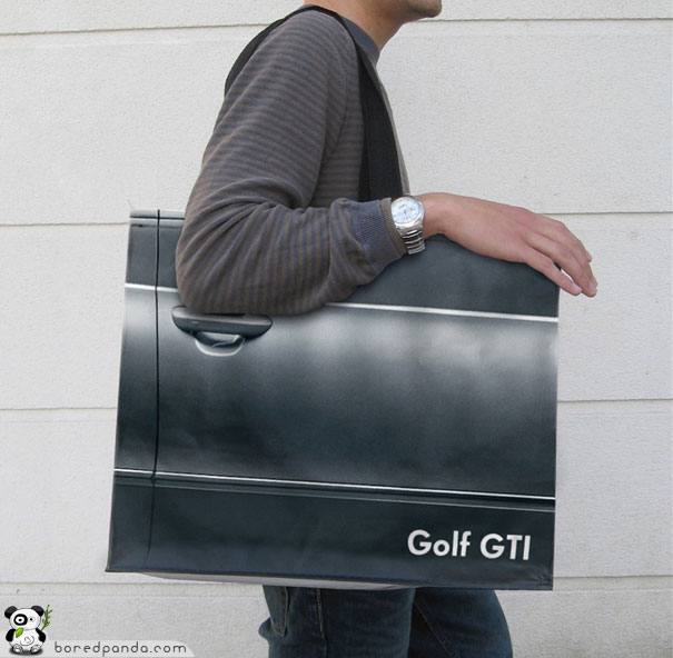 Golf Plastic Bag