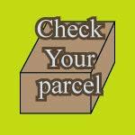check your arrival parcel