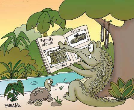 Crocodile Tears - Family album: Mother, Father