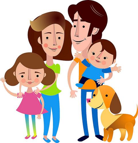 Aquella familia estable es la que valora la estabilidad de la pareja, pero hombres y mujeres se relacionan de una manera cooperativa y equitativa.