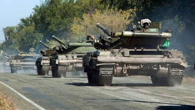 Tanks are being withdrawn from the demarcation line in the Luhansk region
