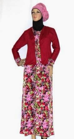 Gamis Rompi Polos GKM4665