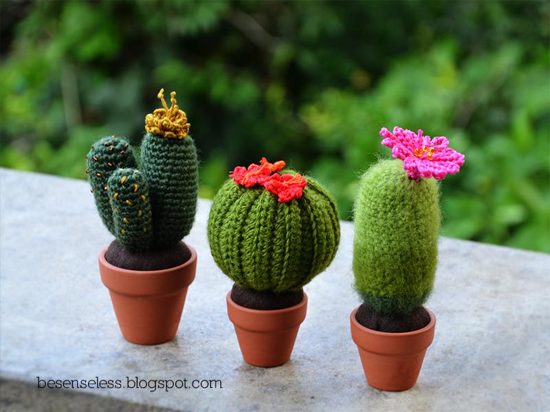 Amigurumi Cactus And Flower Crochet Pattern : Amigurumi cactus #5 Airali