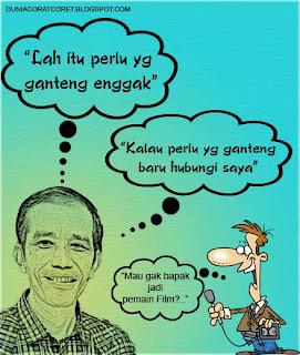 Kata2 Lucu (Bergambar) Pak Jokowi