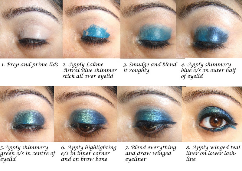 Indian Beauty Central Dance Of The Peacock Bridal Eye Makeup