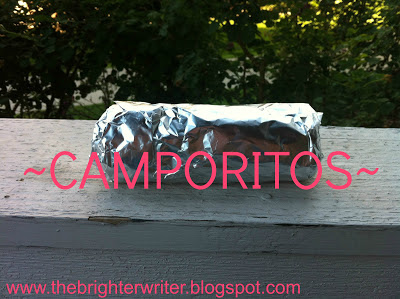 camporitos, perfect for grilling while camping www.thebrighterwriter.blogspot.com