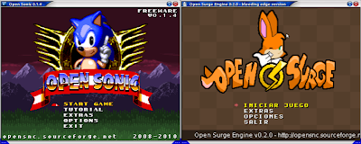 Open Sonic y Surge