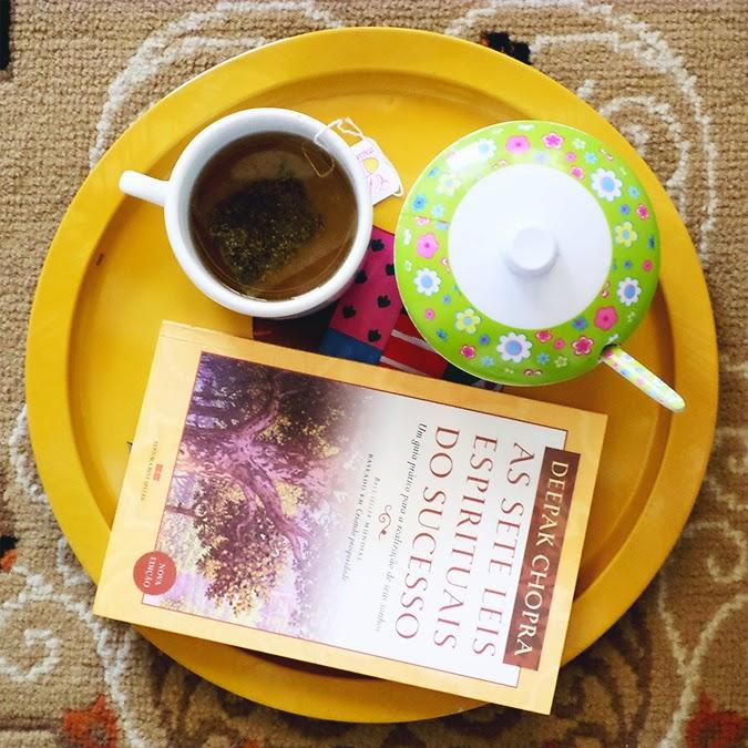 Substitua café pelo chá