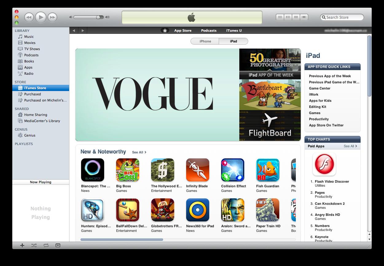 تحميل برنامج ايتونز لنظام التشغيل الماك Apple iTunes for Mac