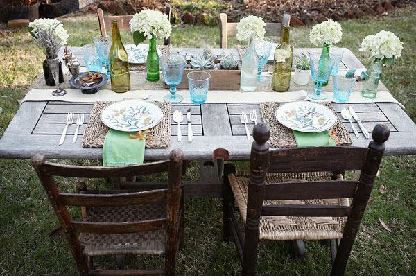 mesas llenas de encanto