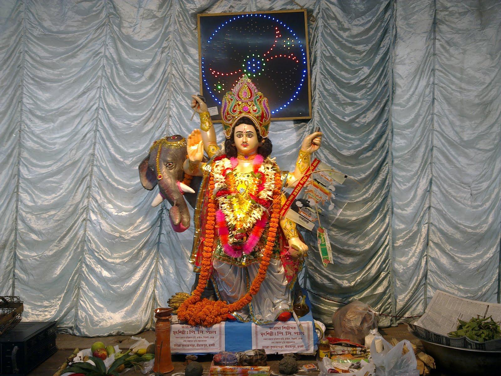 Vishwakarma Puja 2014 Vishwakarma Puja at Serampore
