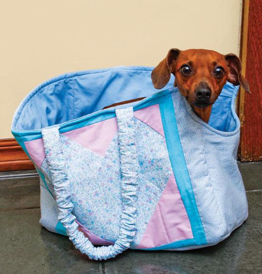 Bolsa P Levar Cachorro : Eu amo artesanato bolsa para carregar cachorrinho passo a